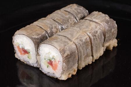 Ролл Жареный темпура лосось