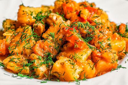 Картофель по-римски