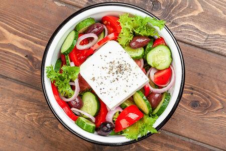 Большой греческий салат
