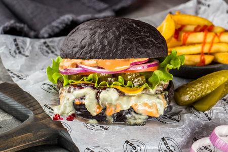 Бургер Черный Джэм с говядиной
