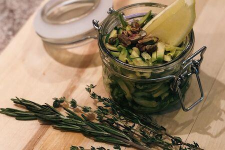 Салат Зеленый с чукой