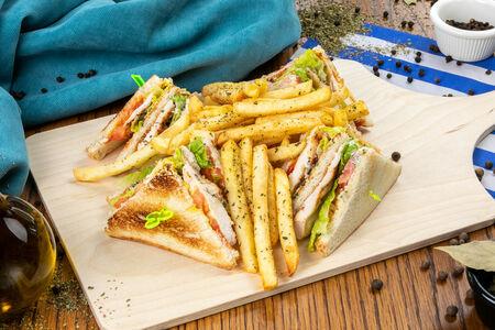 Сэндвич Клаб филето