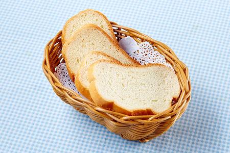 Хлебная корзина белая