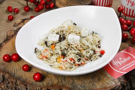 Рис Басмати с печеными овощами