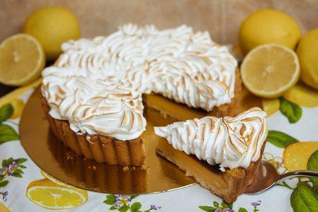 Кростата лимонная