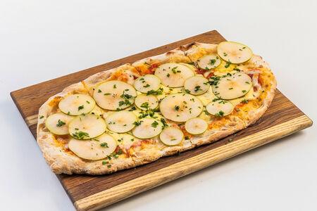 Римская пицца с горгонзолой