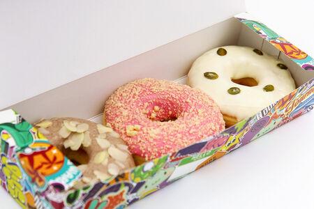 Набор из трех пончиков на выбор
