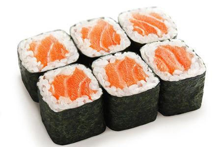 Классический с копченым лососем