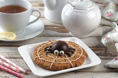 Печенье овсяное (паук)
