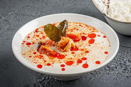Суп Том Кха с креветками