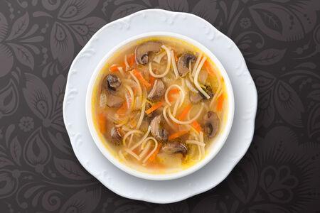 Суп-лапша Грибная