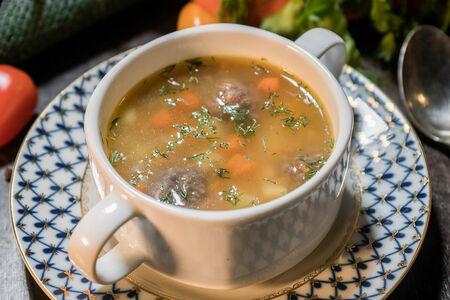 Суп с фрикадельками по-итальянски