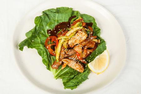 Салат тайский со свининой