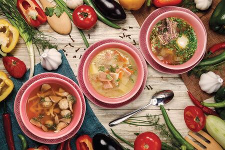 Суп Уха с лососем