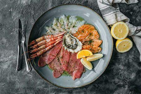 Крудо из морепродуктов