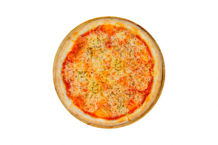 Пицца Маргарита на красном соусе