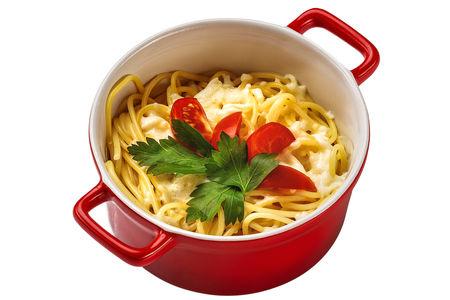 Спагетти с сырочком
