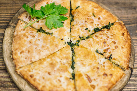 Хачапури Шпинат и сыр
