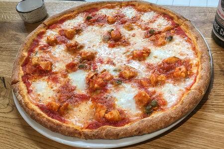 Пицца Тыква с халапеньо