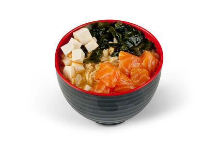 Суп Кимчи с лососем