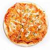 Фото к позиции меню Пицца с морепродуктами и сыром