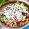 Фото к позиции меню Греческий салат с брынзой