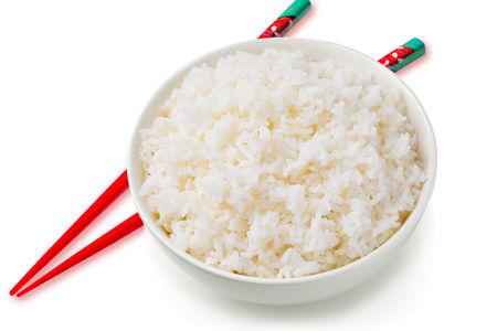 Японский рис на пару