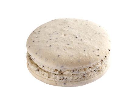 Мини-пирожное Французский макарон маковый