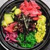 Фото к позиции меню Поке с листьями салата и тунцом