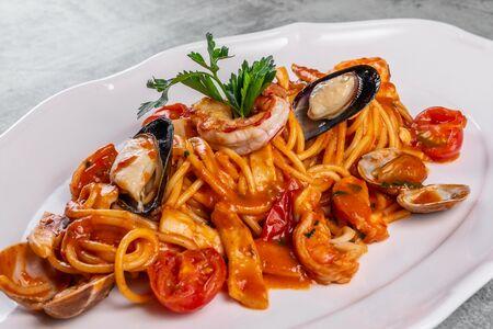 Спагетти Але Скольо