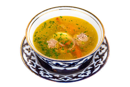 Суп из перепелиных яиц
