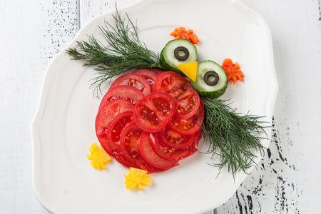 Салат овощной Совенок