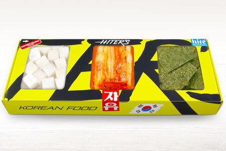 Сет корейских салатов