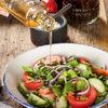 Фото к позиции меню Овощной салат по-грузински с зеленью