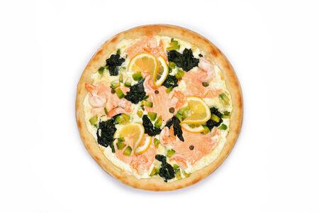 Пицца Сан-Марино на белом соусе