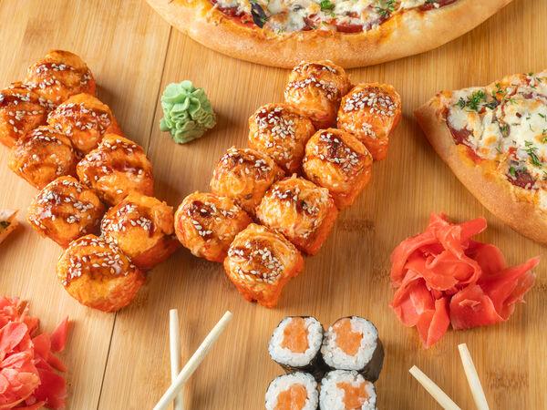Суши 5+