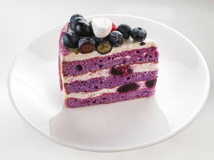 Кусочек торта Черничные ночи
