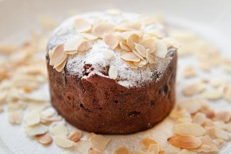 Горячий шоколадный кекс
