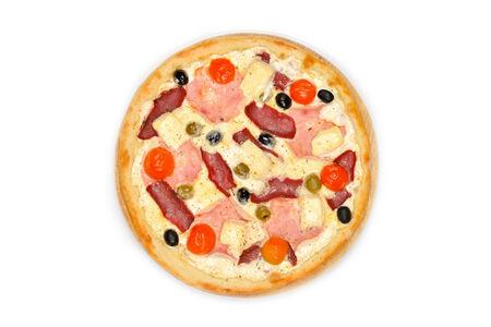 Пицца Каламбрия на белом соусе