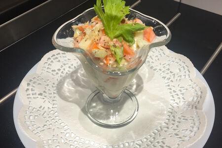 Салат Витаминный с сельдереем и йогуртом