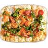 Фото к позиции меню Пицца римская с лососем