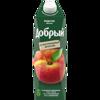 Фото к позиции меню Сок добрый 1л персик-яблоко