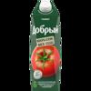 Фото к позиции меню Сок добрый 1л томат