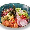 Фото к позиции меню Поке с лососем