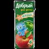 Фото к позиции меню Сок добрый 0,2 яблоко-персик