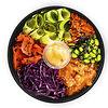 Фото к позиции меню Поке с лососем (рис) Mалый