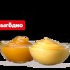Фото к позиции меню Сырный и Кисло-сладкий соусы