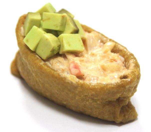 Инари Креветка с авокадо