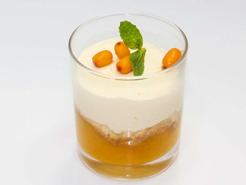 Облепиховый десерт