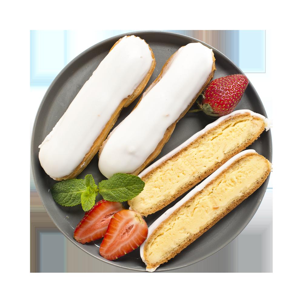 Пирожное Эклер с ванильной начинкой от шеф-кондитера АВ